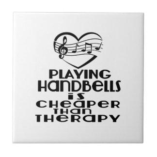 Jogar Handbells é mais barato do que a terapia