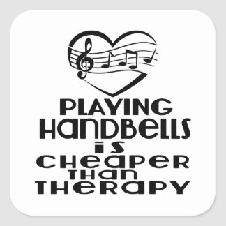 Jogar Handbells é mais barato do que a terapia Adesivo Quadrado