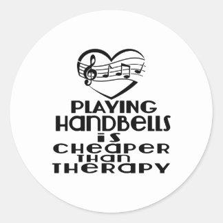 Jogar Handbells é mais barato do que a terapia Adesivo Redondo