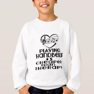Jogar Handbells é mais barato do que a terapia Agasalho