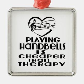 Jogar Handbells é mais barato do que a terapia Ornamento De Metal