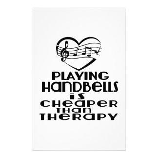 Jogar Handbells é mais barato do que a terapia Papelaria