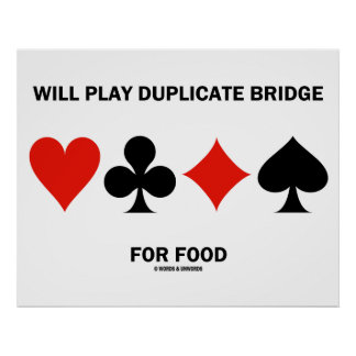 Jogará a ponte duplicada para a comida (os ternos poster