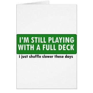 Jogo com uma plataforma de cartões completa