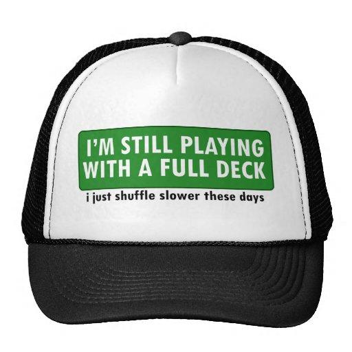 Jogo com uma plataforma de cartões completa bone