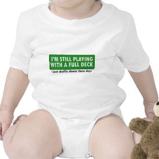 Jogo com uma plataforma de cartões completa macacãozinhos para bebê