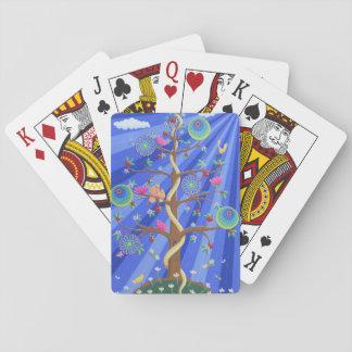 Jogo De Baralho Árvore de cartões de jogo da vida e do amor