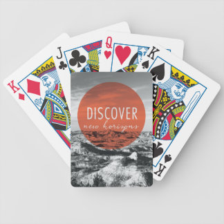 Jogo De Baralho As gargantas | descobrem citações de New Horizons
