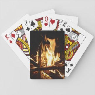 Jogo De Baralho Através das chamas
