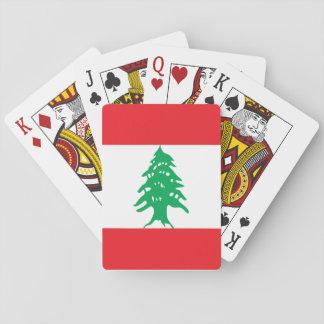 Jogo De Baralho Bandeira de Líbano