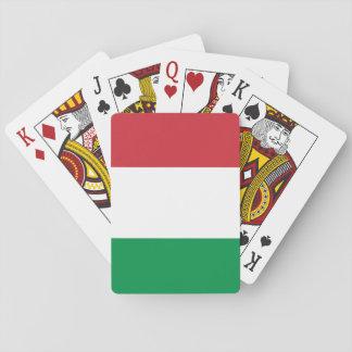 Jogo De Baralho Bandeira italiana patriótica