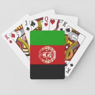 Jogo De Baralho Bandeira nacional do mundo de Afeganistão
