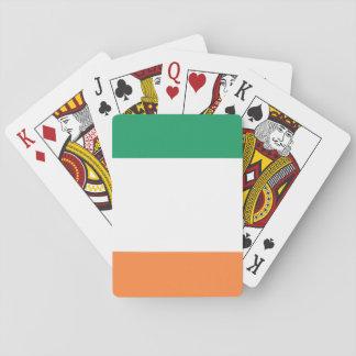 Jogo De Baralho Bandeira nacional do mundo de Ireland