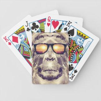 Jogo De Baralho Bigfoot nas máscaras