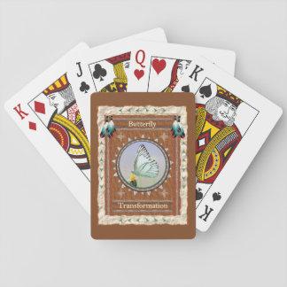 Jogo De Baralho Borboleta - cartões de jogo clássicos da