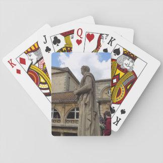 Jogo De Baralho Cartão de jogo romano do viagem de Inglaterra da