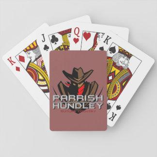 Jogo De Baralho Cartões da banda de Parrish-Hundley