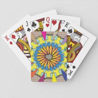 Jogo De Baralho Cartões da mandala de Diamod