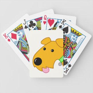 Jogo De Baralho Cartões de jogo bonitos da cara do filhote de