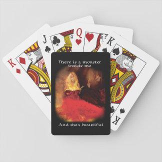 Jogo De Baralho Cartões de jogo bonitos do monstro