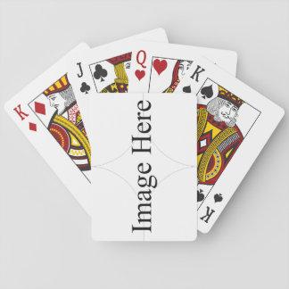Jogo De Baralho Cartões de jogo, caras padrão do índice