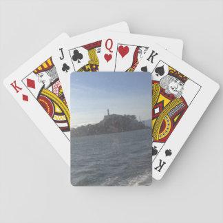 Jogo De Baralho Cartões de jogo clássicos da ilha de Alcatraz