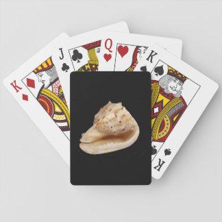 Jogo De Baralho Cartões de jogo clássicos de Shell do Conch