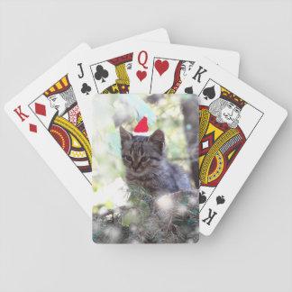 Jogo De Baralho Cartões de jogo clássicos do tempo do Natal da