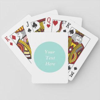 Jogo De Baralho Cartões de jogo clássicos do texto feito sob