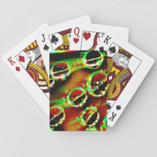Jogo De Baralho Cartões de jogo com imagem do abstrato do amarelo