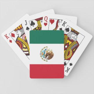 Jogo De Baralho Cartões de jogo da bandeira mexicana