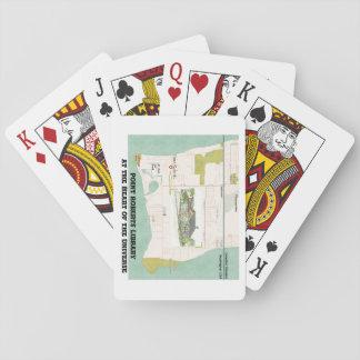 Jogo De Baralho Cartões de jogo da biblioteca da pinta Roberts