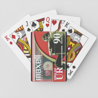 Jogo De Baralho Cartões de jogo da cassete áudio de Maxell