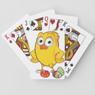 Jogo De Baralho Cartões de jogo da galinha e dos ovos da páscoa