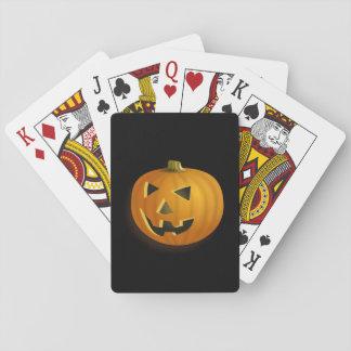 Jogo De Baralho cartões de jogo da Jack-o-lanterna