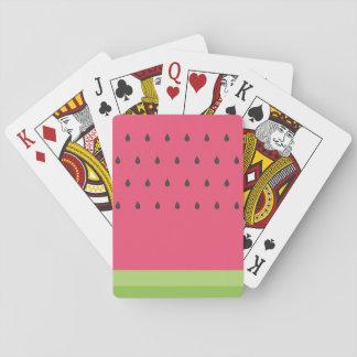 Jogo De Baralho Cartões de jogo da melancia