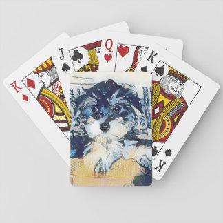 Jogo De Baralho Cartões de jogo da moeda de um centavo