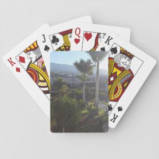 Jogo De Baralho Cartões de jogo da paisagem de Tenerife
