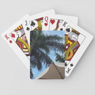 Jogo De Baralho Cartões de jogo da palmeira de Tenerife