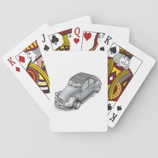 Jogo De Baralho cartões de jogo de 2cv Citroen