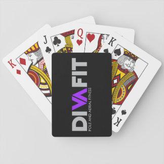 Jogo De Baralho Cartões de jogo de DivaFit