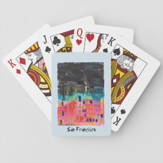 Jogo De Baralho Cartões de jogo de San Francisco