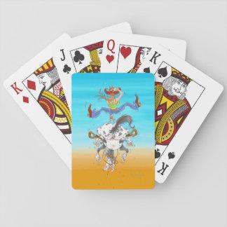 """Jogo De Baralho Cartões de jogo de """"Yeehaw"""""""