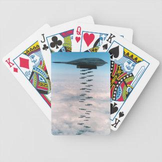 Jogo De Baralho Cartões de jogo do bombardeiro B-2