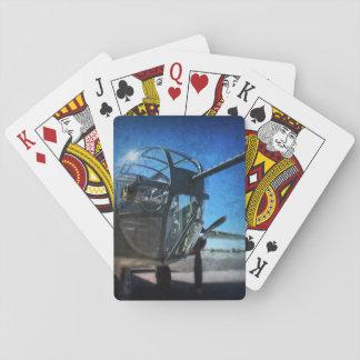 Jogo De Baralho Cartões de jogo do bombardeiro B-25
