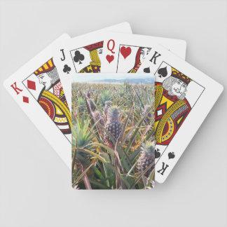 Jogo De Baralho Cartões de jogo do campo do abacaxi