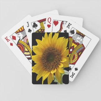 Jogo De Baralho Cartões de jogo do girassol para ela