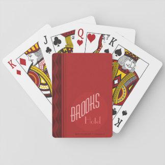 Jogo De Baralho Cartões de jogo do hotel da casa dos ribeiros
