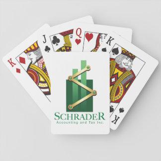 Jogo De Baralho Cartões de jogo do Inc da contabilidade e do