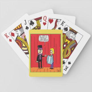 Jogo De Baralho Cartões de jogo do mágico